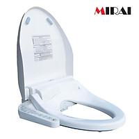 Nắp bồn cầu thông minh Mirai MR01 - rửa nước ấm hai chế độ, sưởi ấm bệt ngồi, massage, sấy khô, màu trắng