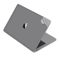 Bộ dán Full Body JCPAL 5in1 cho Macbook - Space Grey (màu Xám) - Hàng Chính Hãng