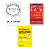 Combo Sách Must-have Dành Cho Marketer: Những Bộ Lạc - Marketing Thống Lĩnh Người Dùng + Marketing Truyền Miệng + Kế Hoạch Marketing Trên 1 Trang Giấy