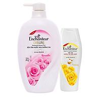 Sữa tắm nước hoa Enchanteur Romantic 650g tặng dầu gội 150g