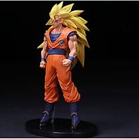 Mô Hình Son Goku Super Saiyan 3 - Mô Hình Dragon Ball ( Mẫu Đứng )