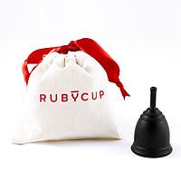 Cốc nguyệt san Ruby Cup, Anh – Màu Đen - Vật liệu 100% sillicon y tế cao cấp đạt tiêu chuẩn FDA (Mỹ), Châu Âu, Độ bền 10 năm – Hàng chính hãng, Thương hiệu được yêu thích tại Anh và 36 quốc gia trên thế giới - Ruby Cup Black