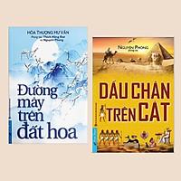 Combo Sách Kỹ Năng: Dấu Chân Trên Cát + Đường Mây Trên Đất Hoa - (Những tác phẩm cuốn hút đọc giả)