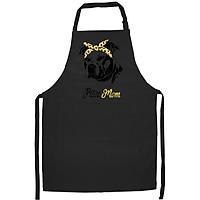 Tạp Dề Làm Bếp In Hình Pom Mom Funny for Pomeranian Dog Mom- Hàng Cao Cấp
