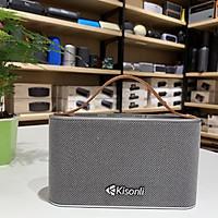 Loa bluetooth Kisonli S6 nhỏ gọn hỗ trợ thẻ nhớ/ USB/ AUX/ Thoại rãnh tay (màu ngẫu nhiên) Hàng Chính Hãng