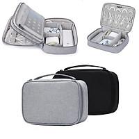 Túi phụ kiện công nghệ BUBM chuyên dụng 1 ngăn, 2 ngăn đựng bộ sạc macbook, máy tính bảng, dây cáp sạc, pin dự phòng, tai nghe