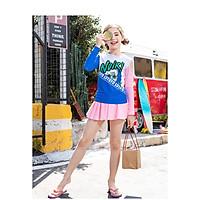 Bộ bơi chân váy chống nắng bé gái  (6-12 tuổi)