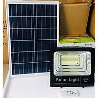 Đèn pha led năng lượng mặt trời 200W siêu sáng - 358 chip led - công nghệ COB- tiết kiệm điện dành cho sân vườn