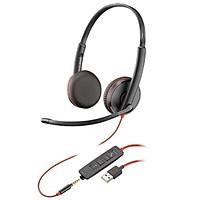 Tai nghe Plantronics C3225-USB-A - hàng chính hãng