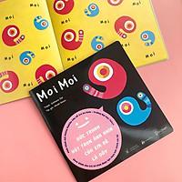 Sách Ehon Nhật Bản- Cuốn sách Ehon Moi Moi giúp các em bé ngừng khóc dành cho các bé sơ sinh- Ehon Moi Moi Bức Tranh Hút Trọn Mọi Ánh Nhìn