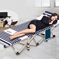 Giường đơn giường gấp ngủ trong bệnh viện gấp gọn tiện dụng ( Mầu ngẫu nhiên ) - Hàng chính hãng