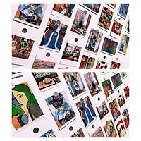Bìa, postcard ,decor thiệp danh hoạ Henri Matisse  , làm tranh treo tường trang trí