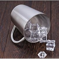 Ly cốc uống nước inox giữ nhiệt tiện dung - Inox 304 Cao Cấp