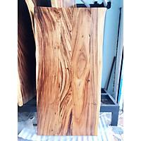 Mặt bàn gỗ Me Tây ghép tự nhiên MTG16