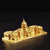 Mô hình thép 3D tự ráp US Capitol