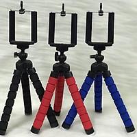 Kẹp điện thoại bạch tuộc, giá để máy ảnh mini, tripod 3 chân livestrem quay video trên mọi địa hình KLH