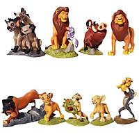Bộ 09 Mô Hình Nhân Vật Vua Sư Tử - The Lion King