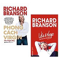Combo Sách : Phong Cách Virgin + Like A Virgin - Kinh Doanh Như Một Cuộc Chơi
