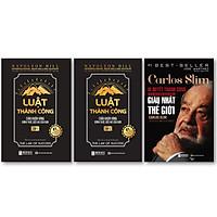 Bộ Sách Tư Duy Của Những Nhà Triệu Phú kt ''Carlos Slim: Bí quyết thành công của người đàn ông giàu nhất thế giới , Luật Thành Công: Chìa Khóa Vàng Đánh Thức Ước Mơ Của Bạn (Tập 1) , Luật Thành Công: Chìa Khóa Vàng Đánh Thức Ước Mơ Của Bạn (Tập 2)