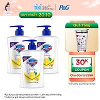 Combo 3 Nước Rửa Tay Safeguard Hương Chanh 450ml