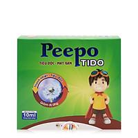 Thực phẩm bảo vệ sức khỏe Peepo Tido giảm dị ứng, mẩn ngứa, giải độc, mát gan cho trẻ