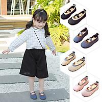 Giày Búp Bê Bé Gái Đế Bệt Phong Cách Tiểu Thư Công Chúa Hàn Quốc Giày Bé Gái từ 1-8 tuổi G29
