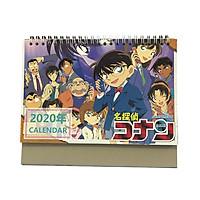 (Lịch 2020) Lịch để bàn hình Anime Detective Conan - Thám Tử Lừng Danh Conan