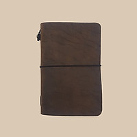 Sổ da midori size passport 4 ruột, thay được ruột bên trong
