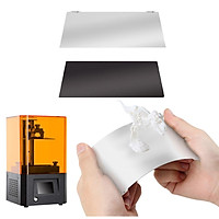 Resin 3D Printer Build Plate Flexible Spring Steel Plate Flex Bed and Magnetic Base Sheet Sticker with Adhesive