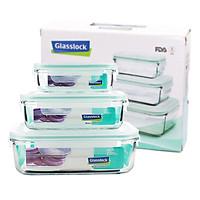 Bộ hộp đựng thực phẩm Glasslock GL135