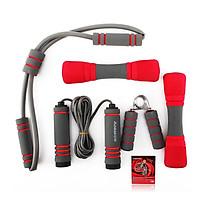 God KANSA fitness equipment four sets of KS1225 rope skipping power device dumbbell rally