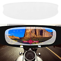 Anti-Fog Motorbikes Helmet Lens  Film Fog Resistant Moto Racing Parts