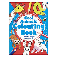Cool Animals Colouring Book