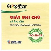 Bộ 2 Giấy Ghi Chú Flexoffice 3x3 FO-SN03
