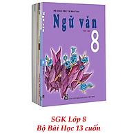 Sách Giáo Khoa Bộ Lớp 8 - Sách Bài Học (Bộ 13 Cuốn) (2021)