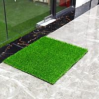 Thảm cỏ xanh chùi chân - cỏ nhựa nhân tạo