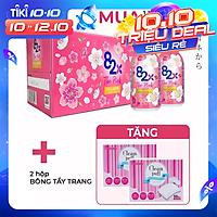 (LỐC 10 CHAI) 82X The Pink Collagen 100ml Hàm Lượng 1000mg Collagen, Nước Uống Đẹp Da Tràn Năng Lượng Đến Từ Nhật Bản