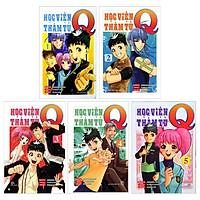 Combo Học Viện Thám Tử Q: Tập 1 Đến Tập 5 (Bộ 5 Tập)