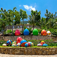 Vé Tắm Bùn Ở KDL Trăm Trứng Nha Trang - Ngâm Bùn Nóng Bồn Trứng