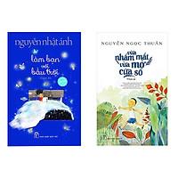 Sách combo truyện Làm bạn với bầu trời và Vừa Nhắm Mắt Vừa Mở Cửa Sổ Tặng cuốn sách rèn kỹ năng dành cho bé