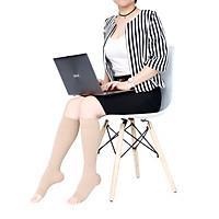 Vớ y khoa gối Hỗ Trợ Điều Trị suy giãn tĩnh mạch chân JOBST Relief chuẩn áp lực 20-30mmHg (màu da, hở ngón) (tất y khoa)