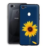 Ốp lưng mẫu đẹp cho điện thoại Oppo F7 - Viền dẻo - 02063 0327 SUNFLOWER06 - Hoa Hướng Dương - Hàng Chính Hãng