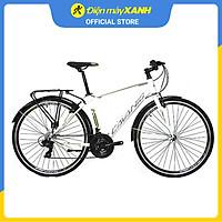 Xe đạp đường phố Touring Cavanio FOCUS 700C Trắng