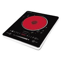 Bếp hồng ngoại Lock & Lock Infrared Cooker EJI342 (2000W) Đen - Hàng chính hãng