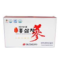 [Combo] 2 Hộp Trà Sâm Daedong 100 gói Chiết xuất từ hồng sâm nội địa 6 năm tuổi dạng trà hạt cốm Hàn Quốc giúp giải nhiệt mùa hè, tăng cường sức đề kháng