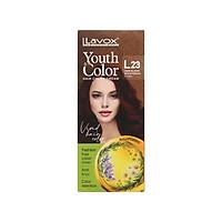 Kem nhuộm màu tóc cao cấp Lavox Youth&Color L23 ( Đỏ đậm)