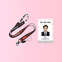 Combo dây đeo thẻ EXO và card đeo thẻ Kai EXO