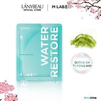 Mặt nạ dưỡng da cấp ẩm sâu, dưỡng ẩm M-Lab Derma Bamboo  LÁNYBEAU (28g/miếng)