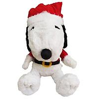 Gấu bông Snoopy đồ Noel 45cm - chính hãng