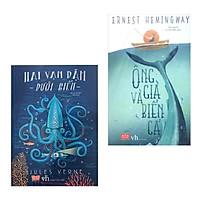 Combo Văn Học Kinh Điển Bán Chạy: Hai Vạn Dặm Dưới Biển + Ông Già Và Biển Cả (Bộ 2 Cuốn Sách Gỉa Tưởng Hiện Đại)